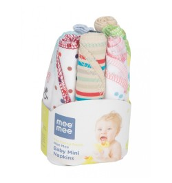 baby bath towels (8 Pieces) (Assorted Colours)