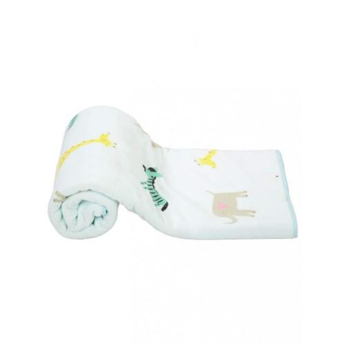 Mee Mee Soft Absorbent Baby Towel (Blue)