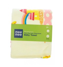 newborn baby towel (Yellow)