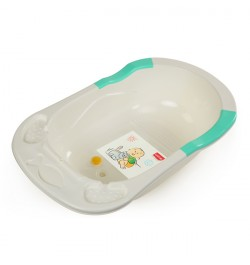 Luvlap Baby Bathtub Green