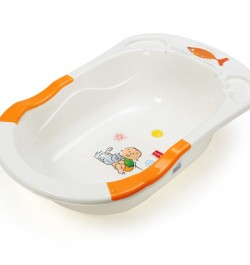 Luvlap Baby Bathtub Orange