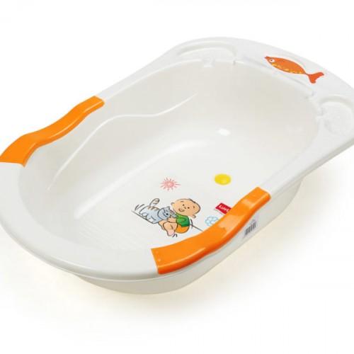 Luvlap Baby Bathtub Orange