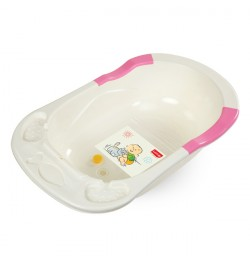 Buy Luvlap Baby Bathtub Pink Online in India