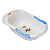 Luvlap Bubble Bathtub With Anti-Slip – Blue