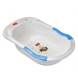 Luvlap Bubble Bathtub With Anti-Slip – Blue