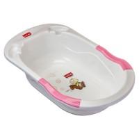 Luvlap Bubble Bathtub With Anti-Slip – Pink