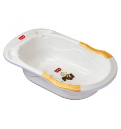 Luvlap Bubble Bathtub With Anti-Slip – Yellow