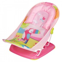 Mee Mee Anti-Skid Compact Baby Bather (Pink)