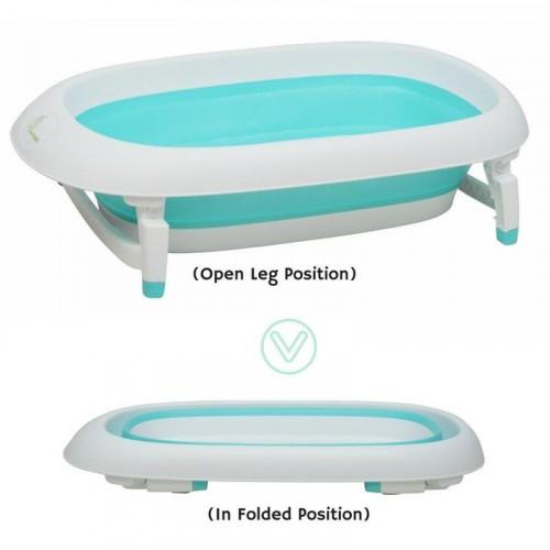 R for Rabbit Bubble Double Elite–Innovative Baby Bath Tub (Green)