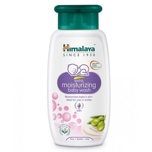 Himalaya Extra Moisturizing Baby Wash - 200ml