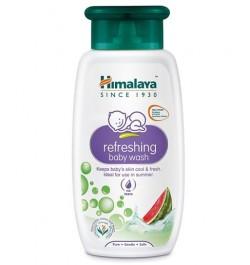 Himalaya Refreshing Baby Wash - 100ml | best body wash for newborn in India