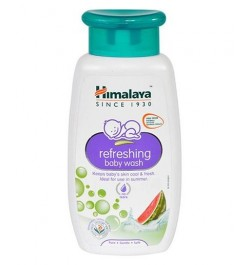 Himalaya Refreshing Baby Wash - 200ml | baby shampoo and body wash