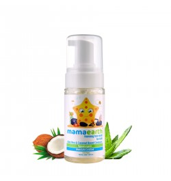 Buy Mamaearth Foaming Facewash for Kids, 120ml Online in India