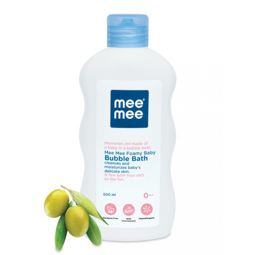 Mee Mee Gentle Bubble Bath with Fruit Extracts (500ml)