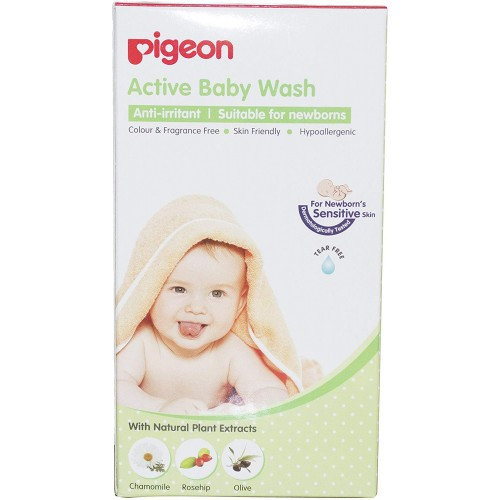 Pigeon Active Baby Wash 200Ml