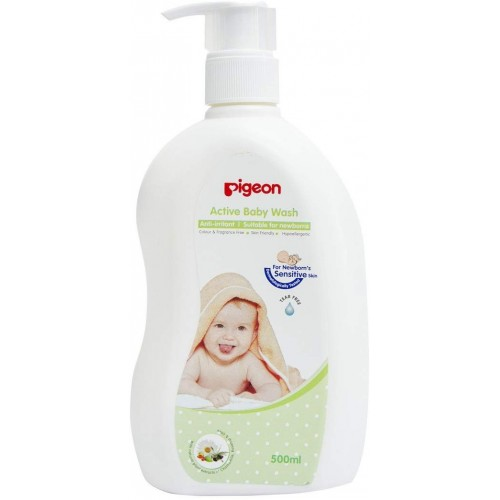 Pigeon Active Baby Wash 500Ml
