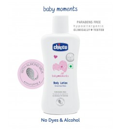 Buy Chicco Baby Moments Body Lotion - 100 ml Online in India