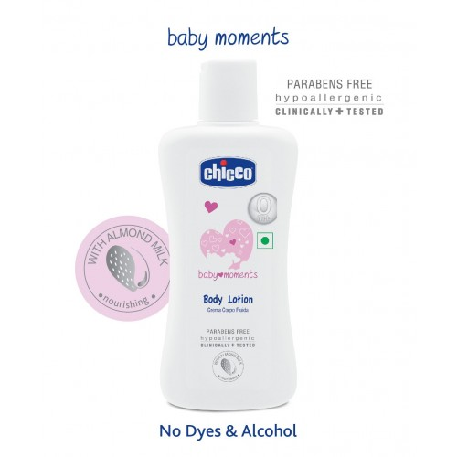 Chicco Baby Moments Body Lotion - 200 ml