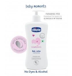 Buy Chicco Baby Moments Body Lotion - 500 ml Online in India