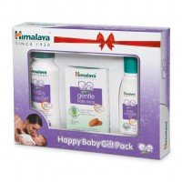 Himalaya Happy Baby Gift Pack (Oil-Soap-Powder) - 3 in 1