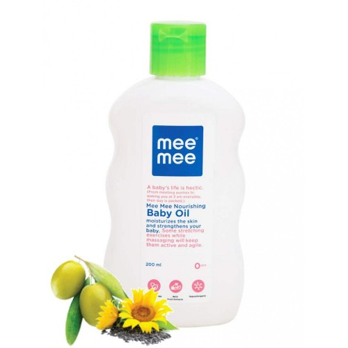 Mee Mee Olive Baby Oil with Fruit Extracts (200ml)