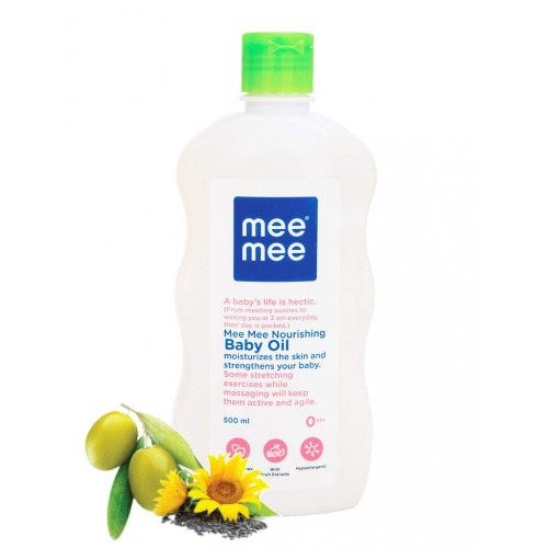 Mee Mee Olive Baby Oil with Fruit Extracts (500ml)