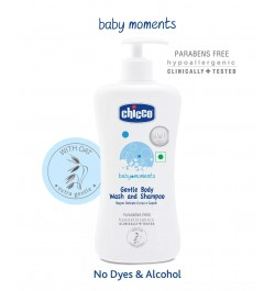 Chicco Gentle Body Wash and Shampoo (500ml)