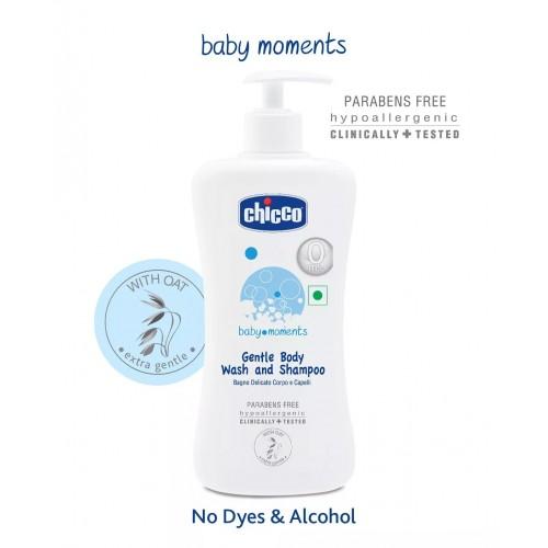 Chicco Gentle Body Wash and Shampoo (500ml)