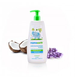 Mamaearth Gentle Cleansing Shampoo, 400ml