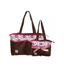 Mee Mee 2 Piece Baby Nursery Diaper Bag Set