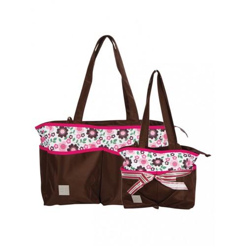 Mee Mee 2 Piece Baby Nursery Diaper Bag Set