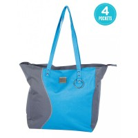 Mee Mee Chic Baby Nursery Diaper Handbag for Moms(Blue)