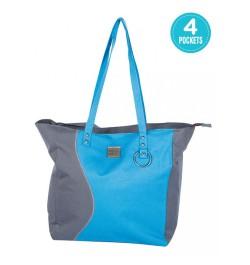 Buy Mee Mee Chic Baby Nursery Diaper Handbag for Moms(Blue) Online in India