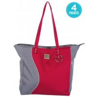 Mee Mee Chic Baby Nursery Diaper Handbag for Moms(Red)