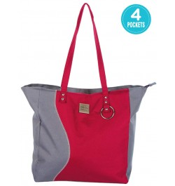 Mee Mee Chic Baby Nursery Diaper Handbag for Moms(Red)
