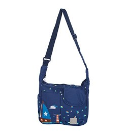 Mee Mee Lightweight Compact Diaper Bag (Blue)