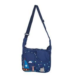 Buy Mee Mee Lightweight Compact Diaper Bag (Blue) Online in India