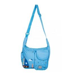 Buy Mee Mee Lightweight Compact Diaper Bag (Light Blue) Online in India