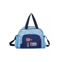 Buy Mee Mee Multipurpose Nursery Diaper Bag with Changing Mat(Blue) Online in India