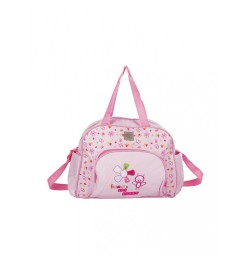 Mee Mee Multipurpose Nursery Diaper Bag with Changing Mat( Pink)
