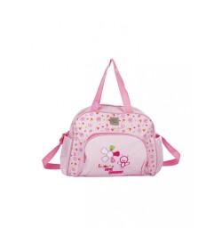 Buy Mee Mee Multipurpose Nursery Diaper Bag with Changing Mat( Pink) Online in India