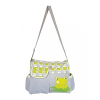 Mee Mee Stylish Multipurpose Diaper Bag(Green)