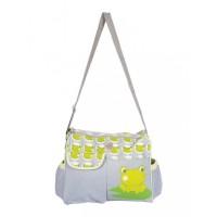 Mee Mee Stylish Multipurpose Diaper Bag(Green)