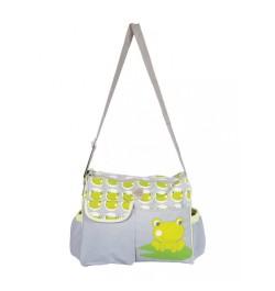 Buy Mee Mee Stylish Multipurpose Diaper Bag(Green) Online in India