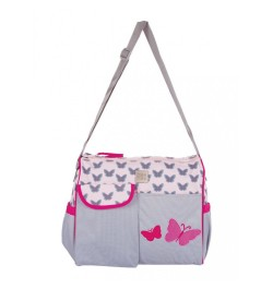 Mee Mee Stylish Multipurpose Diaper Bag(Pink)
