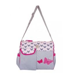 Buy Mee Mee Stylish Multipurpose Diaper Bag(Pink) Online in India