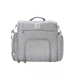 Mee Mee Stylish Nursery Diaper Backpack/Sling Bag for Parents(Light Gray)