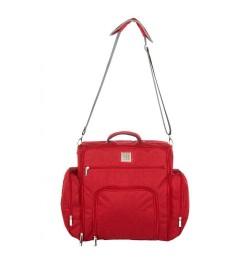 Buy Mee Mee Stylish Nursery Diaper Backpack/Sling Bag for Parents(Maroon) Online in India