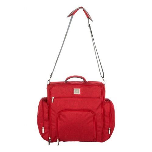 Mee Mee Stylish Nursery Diaper Backpack/Sling Bag for Parents(Maroon)