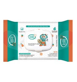 Buy Buddsbuddy Baby Hand & Mouth Wipes 30pcs Online in India